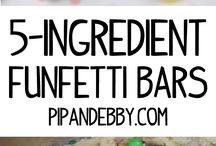 5 ingredient kids recipes