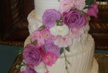 Wedding Cakes (swirls) / Various swirl cakes: ribbon, vintage, etc.