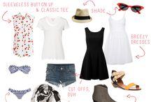 Texas hill country summer vacation wardrobe