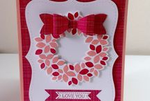 Stampin' Up! ~ Wondrous Wreath / Inspiration for Stampin' Up's Wondrous Wreath.