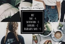 instagram thema's / voor insta account