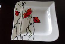 Mis porcelanas / Todo lo que pinto sobre porcelana