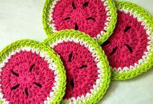 Crochet: Sottobicchieri