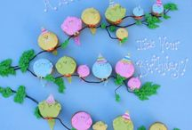 Cakes & cupcakes  / Decorating ideas