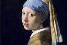 Rembrandt, Caravaggio, Leonardo Da Vinci