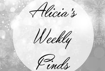 Alicia's Weekly Finds