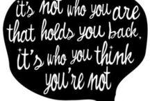 Good quotes / by Rachel Hartgen