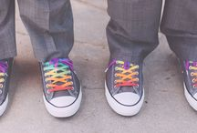 Groom Style: Shoes / Stylin' kicks for grooms and their groomsmen to walk down the aisle