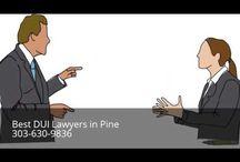 DUI Attorney Pine