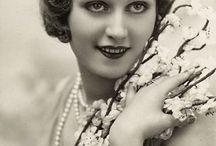 Black and white era women / Old photographs of Women