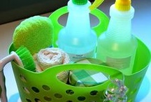cleaning supplies / by Linda Walter