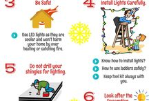 Christmas and New Year Celebrations / Some easy tips for Christmas and New Year decoration without damaging your roof.