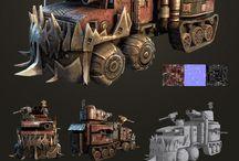 Mad Max, Steampunk