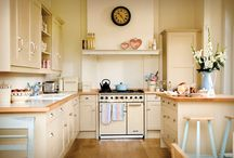 Coastal Kitchen / For a 1940's island bungalow