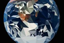 Low Poly Vector Art / A collection of my low poly images created using Ai and Ps