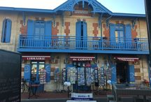 Soulac sur Mer / There's more to the Medoc than wine and Chateaux I love this sea side architectural style of Soulac sur Mer