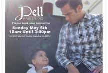 J Dell Hair Studio Events