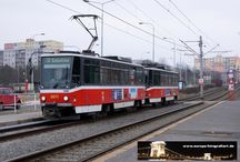 Prag - Straßenbahn Tatra T6A5 / Sie sehen hier eine Auswahl meiner Fotos, mehr davon finden Sie auf meiner Internetseite www.europa-fotografiert.de.