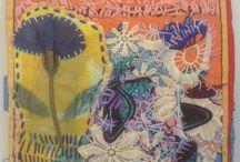 Fabric and fibre art.... love