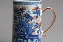 European-decorated Chinese porcelain / The fascinating items of Chinese porcelain which were imported into Europe during the Eighteenth Century and which, on arrival, had additional European decoration added to increase their value.  Sometimes known disparagingly as 'clobbered' wares.