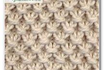 Kknitting stitches