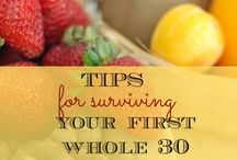 My Whole 30 / by Betsy Tanner