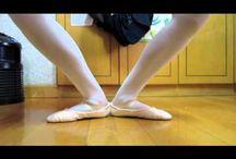 Exercices de ballet