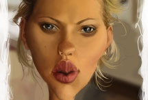 A-Paint--Caricatures / by Distinctive Artistry