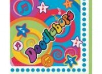 Doodlebops Birthday Party Ideas, Decorations, and Supplies