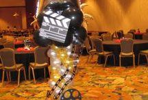 Hollywood balloon theme