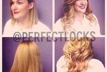 Before & After Hair Extensions / Look at the wonders Perfect Locks human hair extensions can do for you... Amazing!