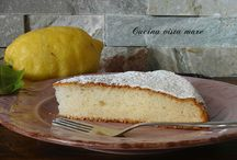 Torte / Torta al limone