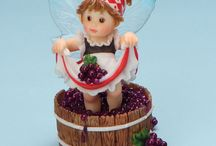 A Fairie Watching Over Your Kitchen / Coppin's has a wide array of fun figurines for your home, including Enesco My Little Kitchen Fairies. / by Coppin's Hallmark Shop