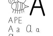 Alfabeto da Colorare