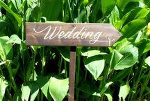 Wedding Signs / wedding signs, arrow signs for weddings, photo props