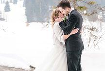 Winter time wedding