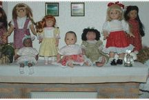 Doll Clothing Patterns-Sewn