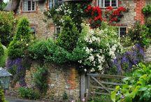 Virágos házak