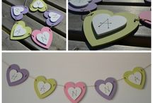Bunting (fabric and wooden)