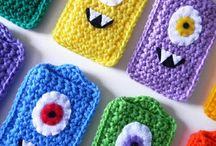 Crochet Covers for Smart Phones and I-Phones
