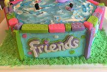 Cake lego friends