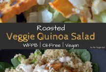 Vegan Salads / Easy vegan salads. Vegan salad recipes. Vegan salad dressing. Healthy vegan salad.