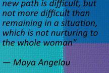 Maya Angelou / by Lisa Lewis