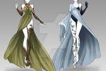 Fantasy ruha