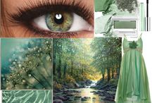 Eye Color Inspirations / Eye colors and patterns inspire thoughts of beauty found in nature. / by Pretty Your World