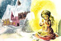Fairytales - Den lilla flickan med svavelstickorna