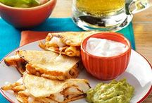 Cinco de Mayo Recipes / Cinco de Mayo (Fifth of May) commemorates Mexico's victory over the French army at the Battle of Puebla in 1862. Celebrate this occasion with a scrumptious spread of food from south of the border, including favorite Mexican recipes like salsa, quesadillas, tacos, enchiladas, margaritas and more.