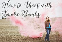 SMOKE BOMB PORTRAITS