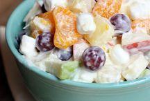 Creamy Fruit Salads