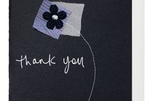 Thank you Cards / being grateful